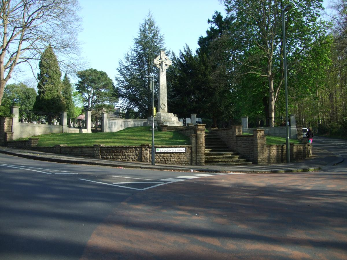 Photo of Epsom Cemetery war memorial