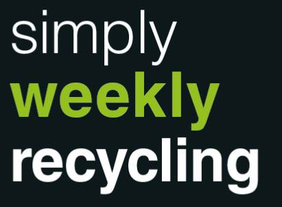 Simply weekly recycling logo